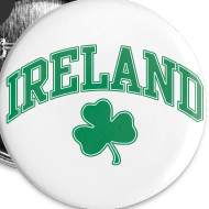 Design ~ Green and White Ireland Buttons