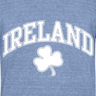 Design ~ Ireland Shamrock Men's Heather T-Shirt