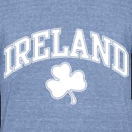 Design ~ Ireland Shamrock Men's Heather T-Shirt