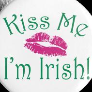 Design ~ Kiss Me I'm Irish Buttons