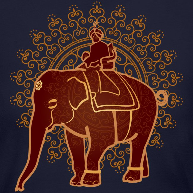 New World Living Apparel And Accessories Indian Elephant Womens