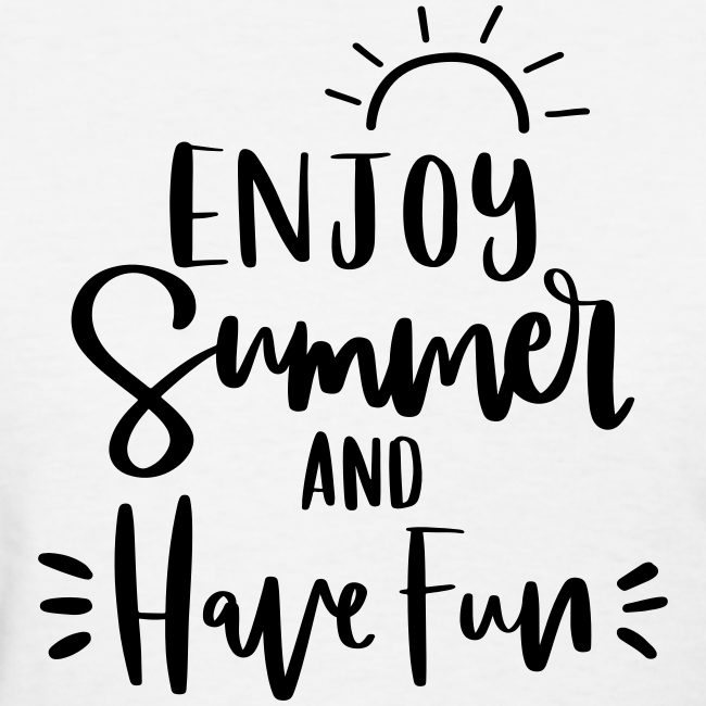 [Double Sided] Enjoy Summer - See Ya Next Year | Customize Your Name