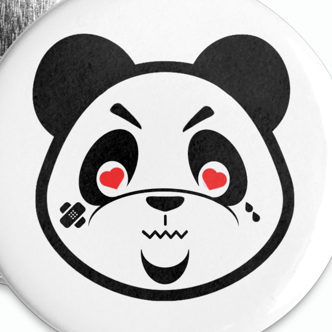 "#XQZT ""Heart Eyes"" Button"
