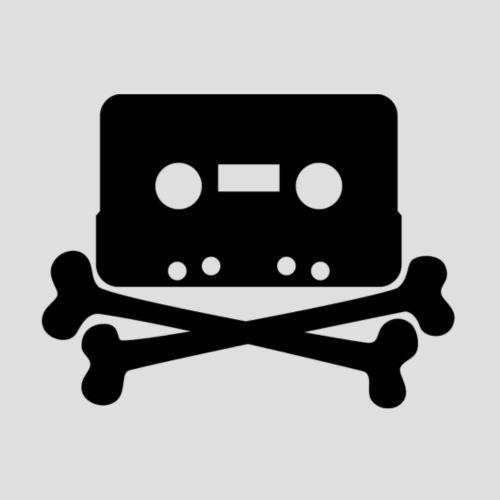Cassette And Cross Bones