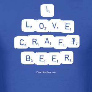 I LOVE CRAFT BEER T-Shirt - Men's T-Shirt