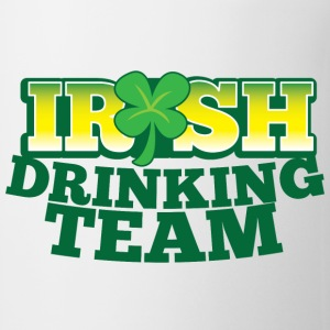 IRISH DRINKING TEAM St PATRICKS DAY Bottles & Mugs - Coffee/Tea Mug