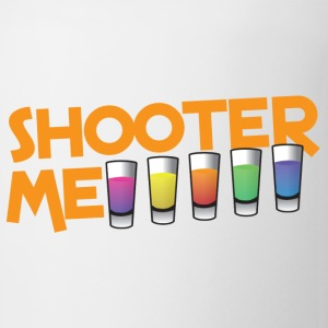 SHOOTER ME many colored cocktail shots Bottles & Mugs - Coffee/Tea Mug
