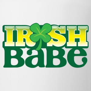 IRISH BABE shamrock cute girl sexy Bottles & Mugs - Coffee/Tea Mug