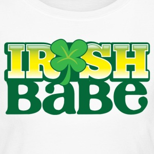 IRISH BABE shamrock cute girl sexy Long Sleeve Shirts - Women's Long Sleeve Jersey T-Shirt