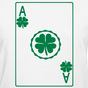 Ace of Shamrock Women's T-Shirts - Women's T-Shirt