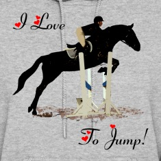 I Love To Jump! Equestrian Horse