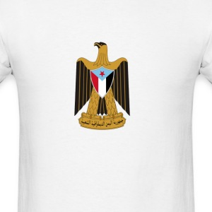 Coat of arms of South Yemen Eagle of Saladin T-Shirts - Men's T-Shirt