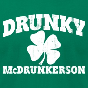 DRUNKY McDRUNKERSON T-Shirts - Men's T-Shirt by American Apparel
