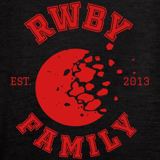RWBY Family Varsity Moon Ladies' Tank Top