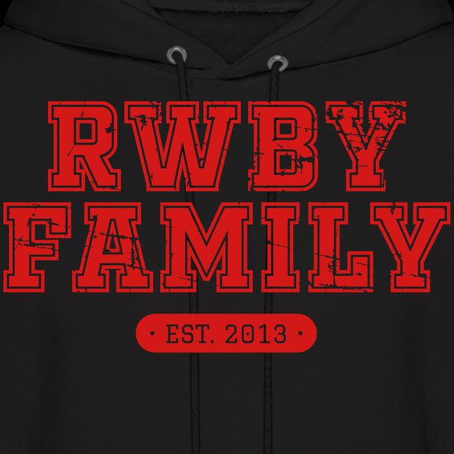 RWBY Family Varsity Unisex Hoodie