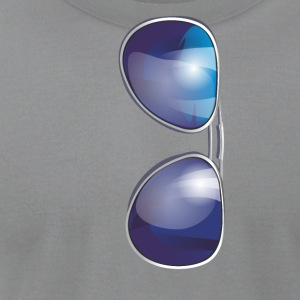 sunglasses T-Shirts - Men's T-Shirt by American Apparel