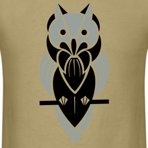 Graphic Owl T-Shirts - Men's T-Shirt