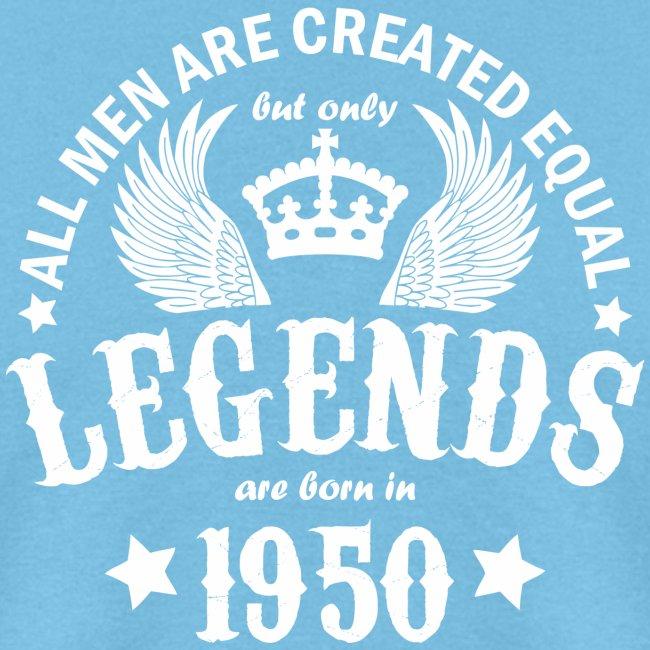 Legends are Born in 1950