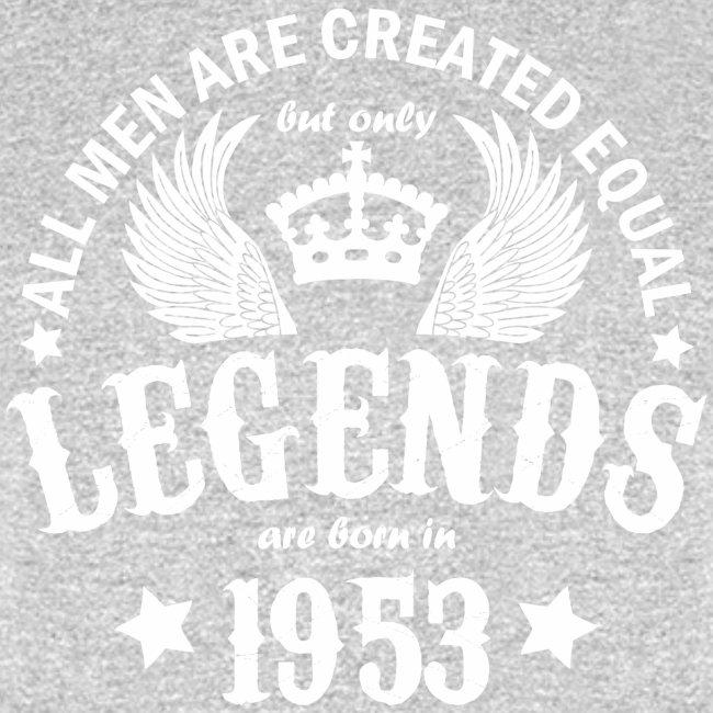 Legends are Born in 1953