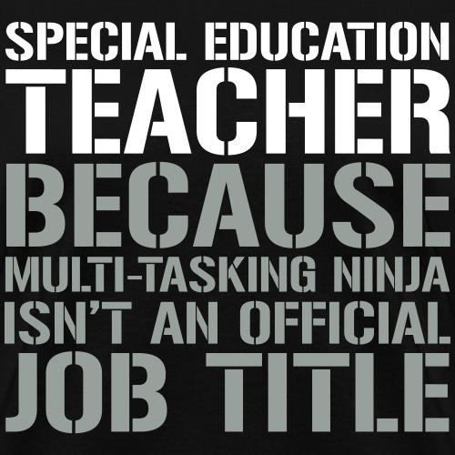 SPED Teacher Ninja Funny Teacher T-shirts