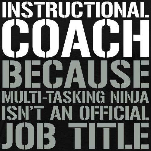 Instructional Coach Ninja Funny Teacher T-shirts
