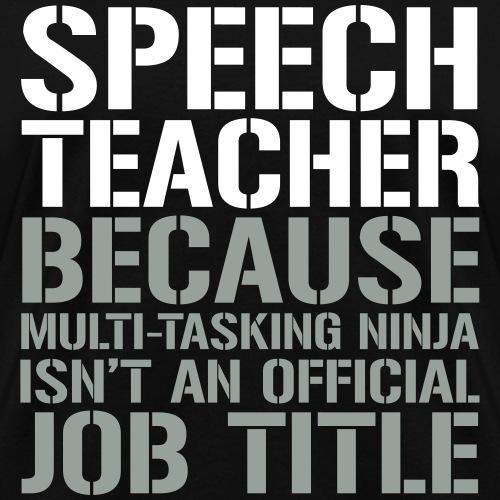 Speech Teacher Ninja