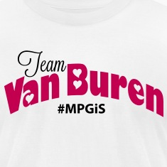 Most Popular Girls Team Van Buren  T-Shirts