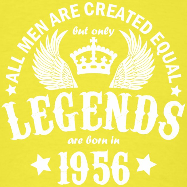 Legends are Born in 1956