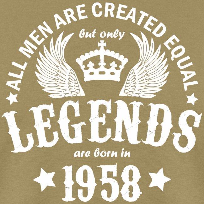 Legends are Born in 1958