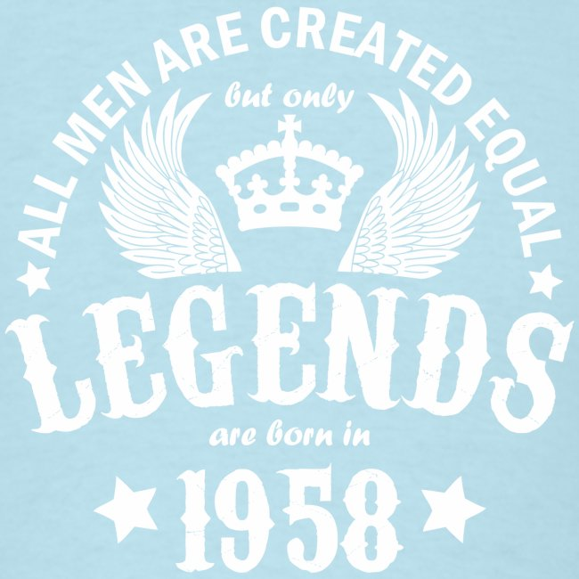 Legends are Born in 1958