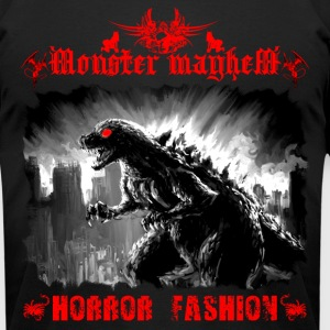 Monster Mayhem 1 - Men's T-Shirt by American Apparel