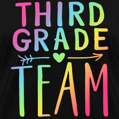 Third Grade Team Neon Rainbow