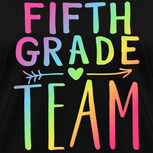 Fifth Grade Team Neon Rainbow