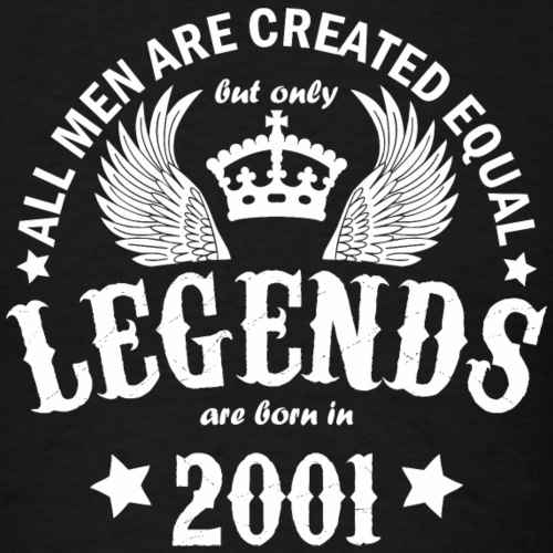 Legends are Born in 2001