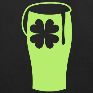 a green shamrock beer glass single color Bags  - Eco-Friendly Cotton Tote