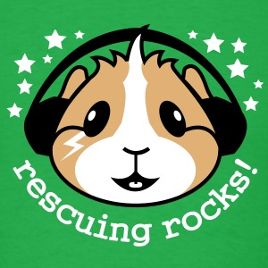 'Rescuing Rocks!' Mens T-Shirt  - Men's T-Shirt