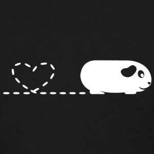 'Pooping Heart' Guinea Pig Ladies T-Shirt 2 - Women's T-Shirt