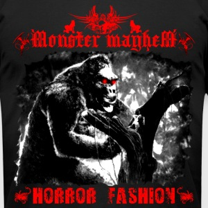 Monster Mayhem 15 - Men's T-Shirt by American Apparel