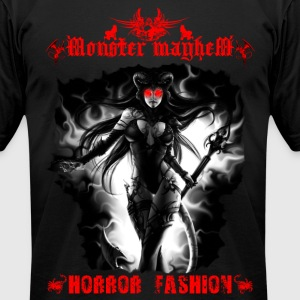 Monster Mayhem 13 - Men's T-Shirt by American Apparel