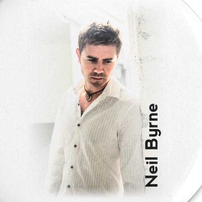 5 Button Pack - Neil Byrne - White Shirt