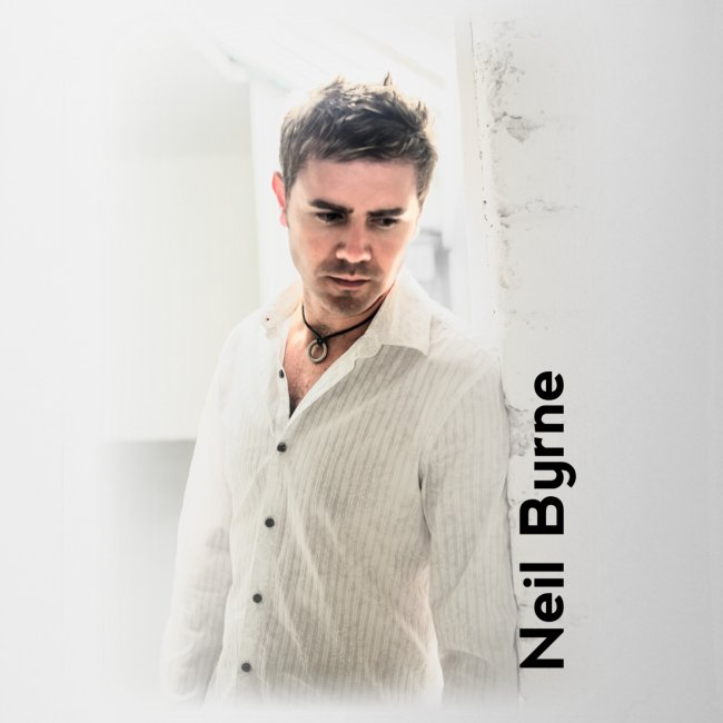 White Mug - Neil Byrne - White Shirt
