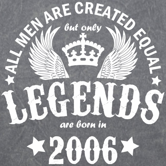 Legends are Born in 2006