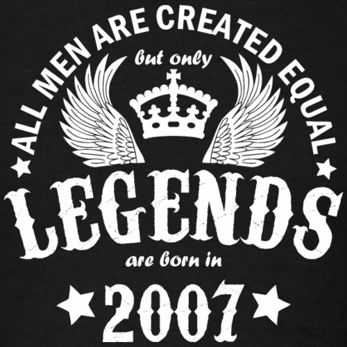 Legends are Born in 2007