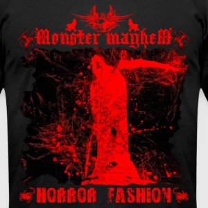 Monster Mayhem 14 - Men's T-Shirt by American Apparel