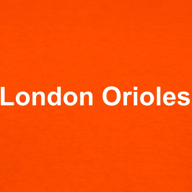 Me and the boys - London Orioles