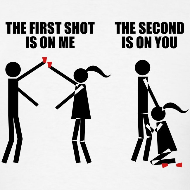 The First Shot Is On Me, The Second Is On You