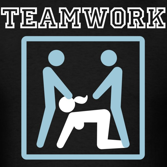 Teamwork Threesome