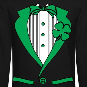 irish suit Long Sleeve Shirts - Crewneck Sweatshirt