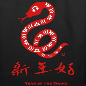 Chinese Year Of The Snake Bags  - Eco-Friendly Cotton Tote