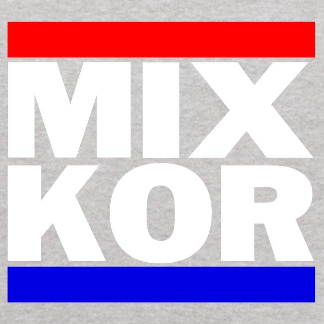 MIX KOR Kids Hoodie - Heather Grey